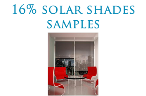 Solar Shades 16% Open SAMPLES