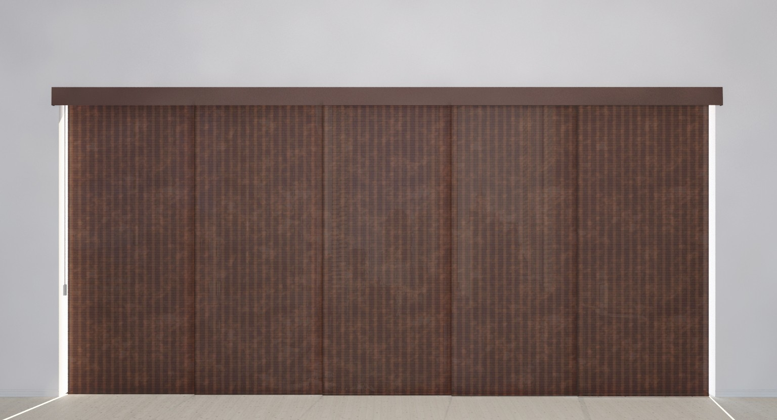 Panel Track Blinds Woven Collection
