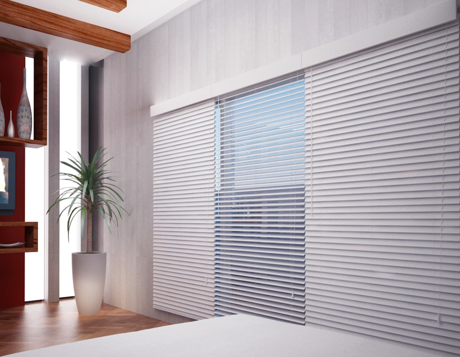 Elite 2 faux wood blinds for 2 faux wood window blinds