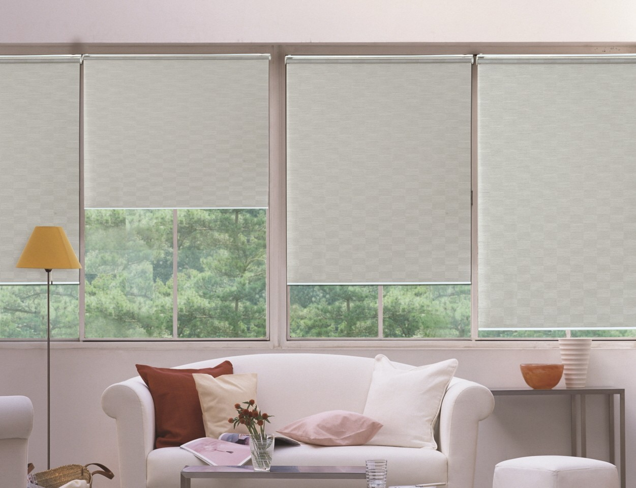 fabric blind window detail roller plastic product chain mechanism blinds