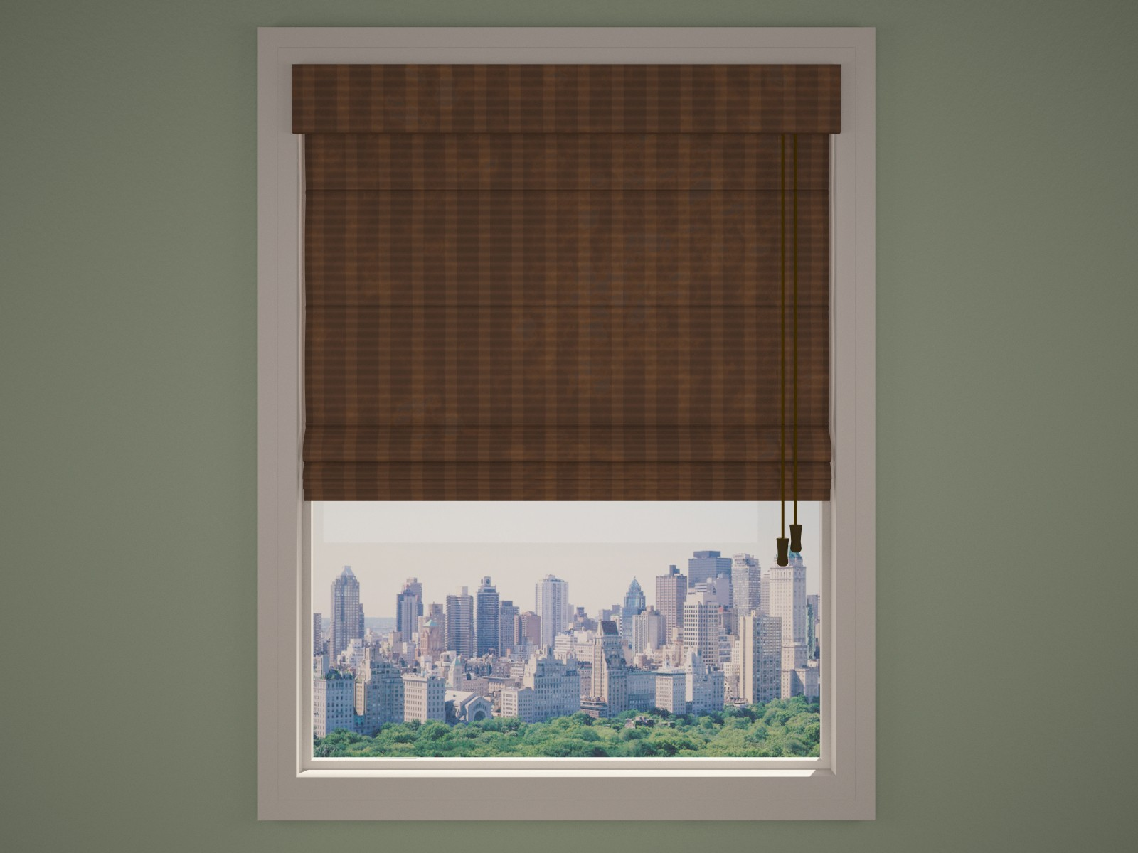 Installing Roman Shades On French Doors