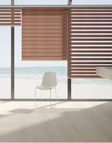 Stripped Wood Look Shades