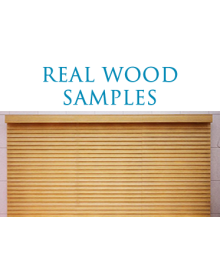 REAL WOOD SAMPLES